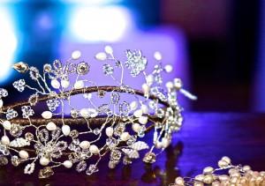 tiara at Cannizaro house wimbledon wedding fair