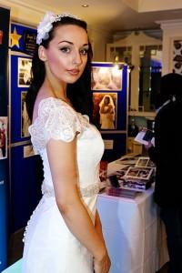 bride at wedding wearing a tiara in wimbledon