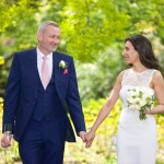 a wedding photos in Cannizaro House park by Joseph Tufo and Emy Lou