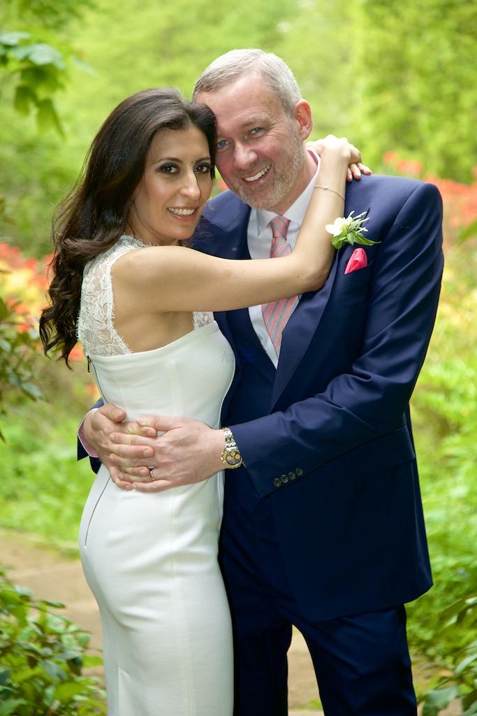 a wedding photos in Cannizaro House park by Joseph Tufo and Emy Lou