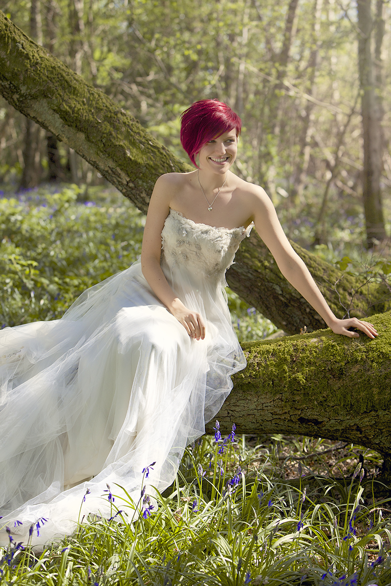 Bluebell Bridal Portraiture in Surrey