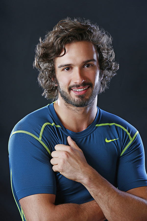 portrait of joe wicks fitness and nutrition instructor