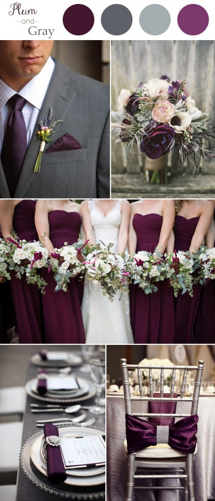 plum-and-gray-rustic-wedding-color-trends-2016