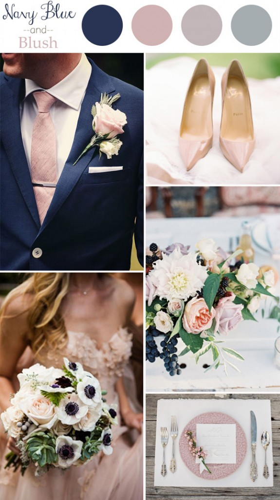 wedding-color-trends-2016-navy-blue-and-blush